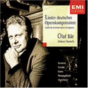 Olaf Baer - Lieder Deutscher Opernkompon.