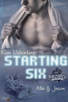 Starting Six: Allie und Jason - Kim Valentine  [Taschenbuch]