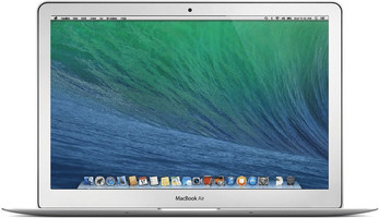 Apple MacBook Air 11.6 (glanzend) 1.3 GHz Intel Core i5 4 GB RAM 256 GB SSD [Mid 2013, QWERTY-toetsenbord]