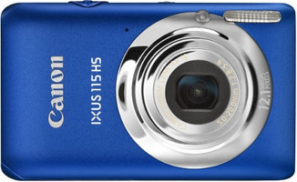 Canon IXUS 115 HS blauw