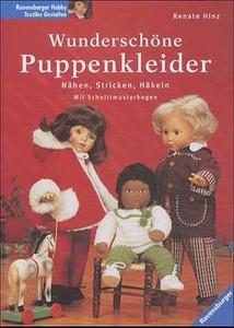 Wunderschöne Puppenkleider Nähen Stricken Häkeln Renate Hinz