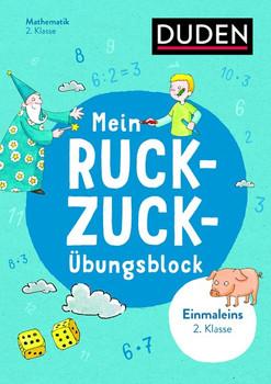 Mein Ruckzuck-Übungsblock Einmaleins 2. Klasse. bis 100 [Taschenbuch]