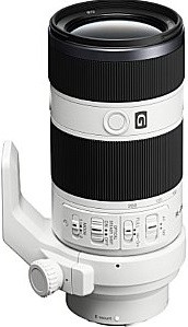 Sony FE 70-200 mm F4.0 G OSS 72 mm Objectif (adapté à Sony E-mount) blanc