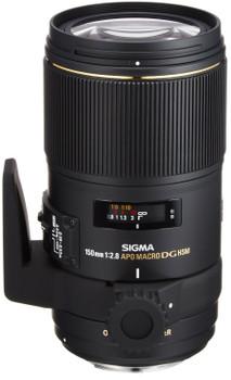 Sigma 150 mm F2.8 APO DG EX HSM OS Macro 72 mm Objectif (adapté à Sony A-mount) noir