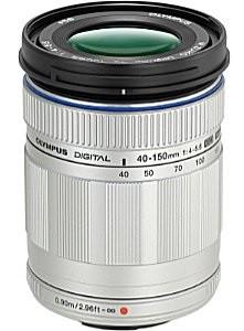 Olympus 40-150 mm F4.0-5.6 ED 58 mm Objectif (adapté à Micro Four Thirds) argent
