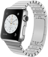 Apple Watch 38 mm zilver met schakelarmband zilver [wifi]