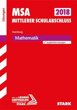 Mittlerer Schulabschluss Hamburg - Mathematik Lösungen [Taschenbuch]