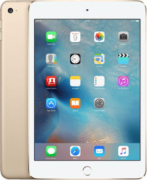 "Apple iPad mini 4 7,9"" 32GB [wifi + cellular] goud"