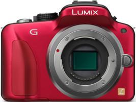 Panasonic Lumix DMC-G3KEG-K body rood