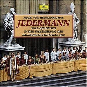 Will Quadflieg - Jedermann (Salzburger Festspiele 1958) (Hugo von Hofmannsthal)