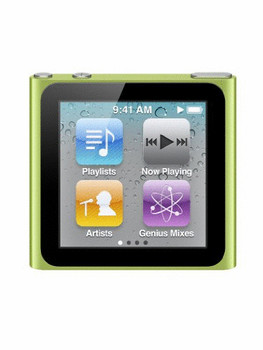 Apple iPod nano 6G 16GB verde