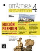 Bitácora 4 Nueva edición (B2). Libro del alumno + MP3 descargable + Premium [Taschenbuch]