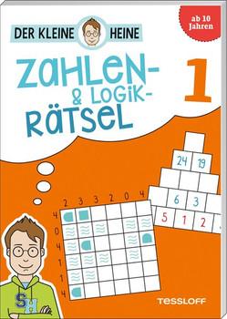 Der kleine Heine: Zahlen-und Logikrätsel 1. Kniffliger Rätselspaß - Stefan Heine  [Taschenbuch]