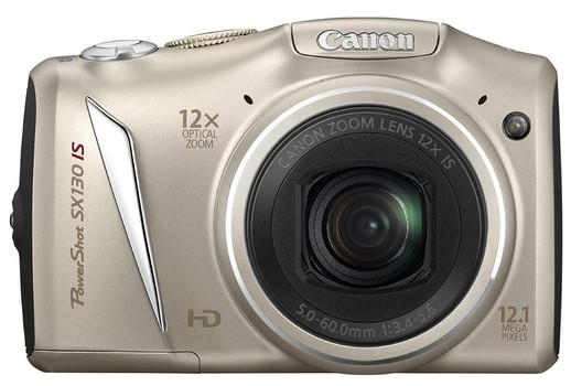 Canon PowerShot SX 130 IS argento
