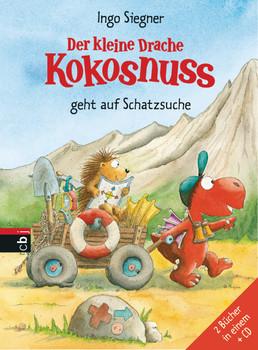 Der kleine Drache Kokosnuss geht auf Schatzsuche -: Set aus 2 Bänden mit CD - Siegner, Ingo