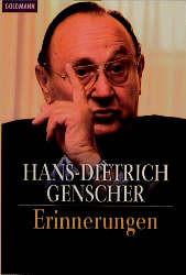 Erinnerungen. - Hans-Dietrich Genscher
