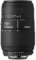 Sigma 70-300 mm F4.0-5.6 DL Macro Super 58 mm Objectif (adapté à Sony A-mount) noir