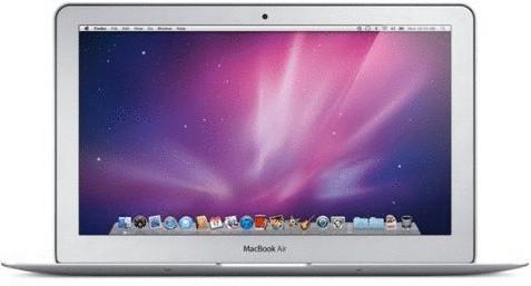 Apple MacBook Air 11.6 (high-res glanzend) 1.4 GHz Intel Core 2 Duo 2 GB RAM 64 GB SSD [Late 2010, QWERTY-toetsenbord]