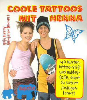 Coole Tattoos mit Henna - Raju Kurray
