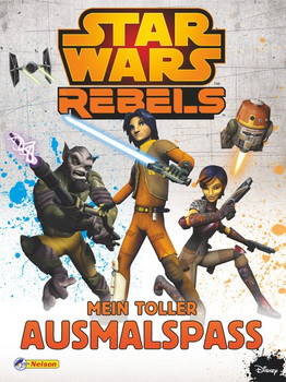 Star Wars Rebels: Mein toller Ausmalspaß