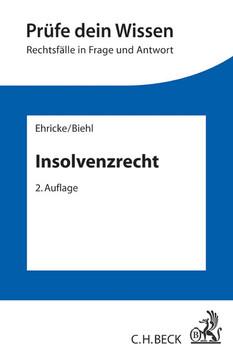 Insolvenzrecht - Ehricke, Ulrich