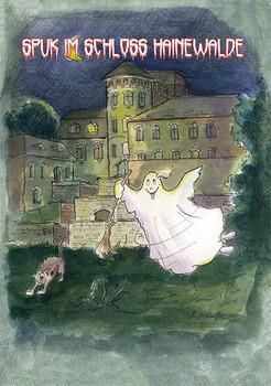 Spuk im Schloss Hainewalde - Marita Apelt  [Taschenbuch]