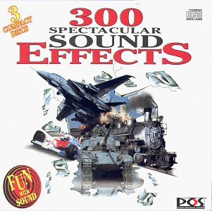 Various - 300 Spectacular Sound Effects [3 CDs]