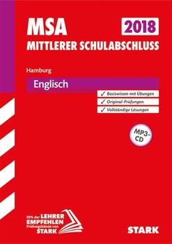 Mittlerer Schulabschluss Hamburg - Englisch, mit MP3-CD [Taschenbuch]