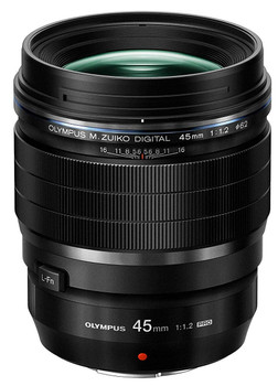 Olympus M.Zuiko Digital Pro 45 mm F1.2 ED 62 mm Obiettivo (compatible con Micro Four Thirds) nero