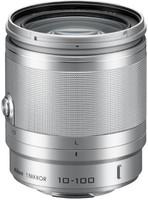 Nikon 1 NIKKOR 10-100 mm F4.0-5.6 VR 55 mm Objectif (adapté à Nikon 1) argent