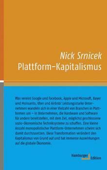 Plattform-Kapitalismus - Nick Srnicek  [Gebundene Ausgabe]