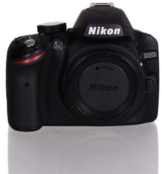 Nikon D3200 zwart