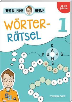 Der kleine Heine: Wörterrätsel 1. Kniffliger Rätselspaß - Stefan Heine  [Taschenbuch]