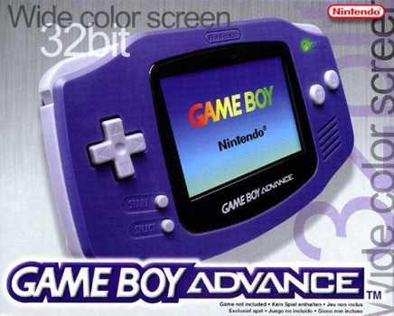 Game Boy Advance paars