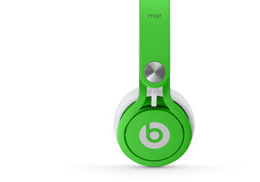 Beats by Dr. Dre mixr neon verde