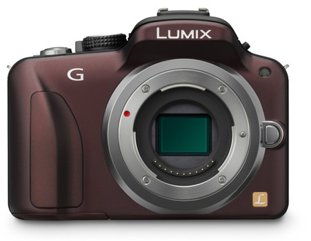 Panasonic Lumix DMC-G3EG-K marron