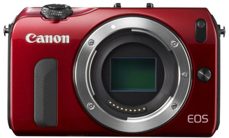 Canon EOS M Caméra System rouge