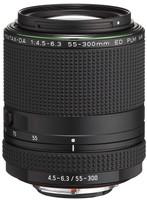 Pentax HD DA 55-300 mm F4.5-6.3 ED PLM RE WR 58 mm filter (filter Pentax K) zwart