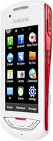 Samsung S5620 Monte blanco rojo