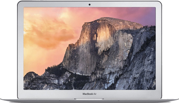 "Apple MacBook Air 11.6"" (glanzend) 1.6 GHz Intel Core i5 4 GB RAM 128 GB PCIe SSD [Early 2015] QWERTY toetsenbord"