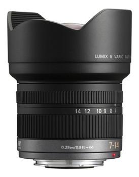 Panasonic Lumix G 7-14 mm F4.0 75 mm filter (geschikt voor Micro Four Thirds) zwart