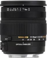 Sigma 17-70 mm F2.8-4.0 DC HSM OS Macro 72 mm Objetivo (Montura Canon EF) negro