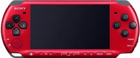 Sony PSP 2004 rosso [edizione Spiderman]