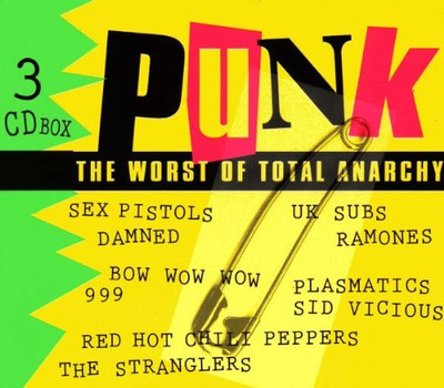 Various - Punk-the Worst of Total Anar