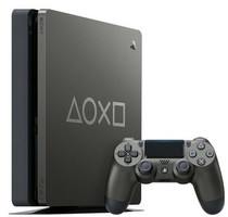 Sony PlayStation 4 1 TB [Days of Play Limited Edition inkl. Wireless Controller] steel black