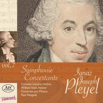William Youn - Ignaz Joseph Pleyel: Sinfonien C-Dur Ben 151 & a-Moll Ben 155 / Sinfonia Concertante