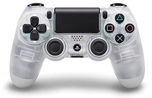 Manette Sony PS4 DualShock 4 crystal