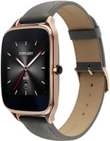 Asus ZenWatch 2 44,1 mm or rouge au bracelet en cuire taupe [Wi-Fi, Holiday Edition]