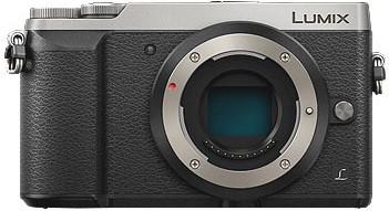 Panasonic Lumix DMC-GX80 Cuerpo plata