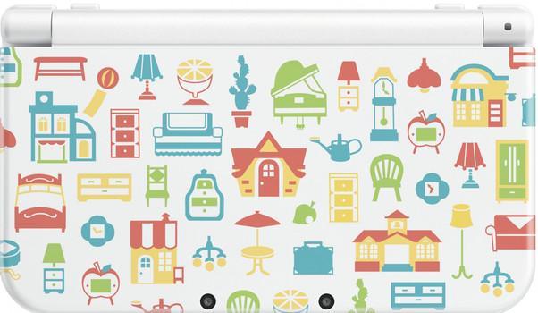 New Nintendo 3DS XL blanco [Animal Crossing: Happy Home Designer Special Edition]